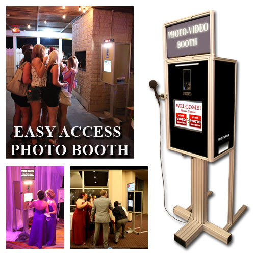 Easy Access Photo Booth Without Enclosure
